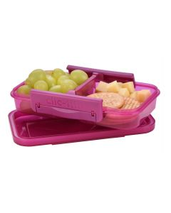 Clic-Tite 430ml Split Snack Berry by Polar Gear